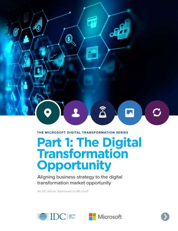THE MICROSOFT DIGITAL TRANSFORMATION SERIES Part 1: Digital Transformation Opportunity